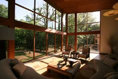 A Dallas home built entirely of teak
