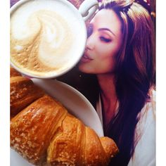 Breakfast with Angelina