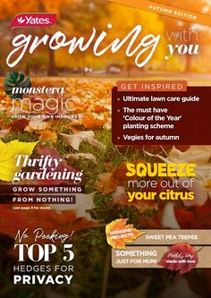 Yates Growing with You - Autumn Edition 2018