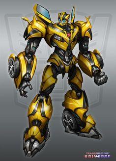 #Transformers #Autobot Bumblebee / Ilustración