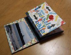 Mini phot album. Made by Siiri Viljanen