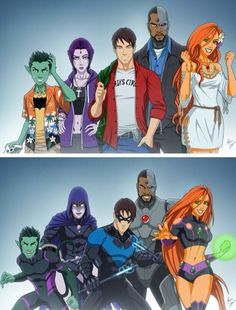 Teen Titans                                                                                                                                                     More