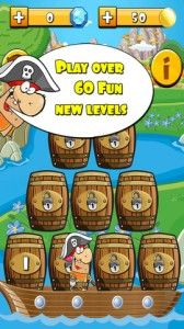 Babbo's Barrels - In this fun game Babbo's pirate ship is overloaded with barrels and you have to help save his ship from sinking by breaking all the barrels up. It's a bubble matching game and points are scored by how fast you complete a level. There are over 60 neat levels of varying difficulty to try and some of these require top-notch puzzle-solving skills to beat! The developers have gone with a cartoony, cute theme and it definitely fits the feeling of Babbo's Barrels. Highly…
