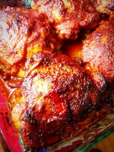 Piri Piri Portuguese chicken recipe - this recipe is for oven-baked chicken, but it will be awesome on the braai as well.