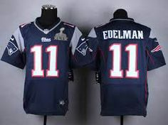 215dc577d New England Patriots  11 Julian Edelman Nike Blue Elite 2015 Superbowl  Jersey. Jordy Nelson