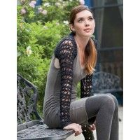 Umami Crocheted Shrug Pattern | InterweaveStore.com