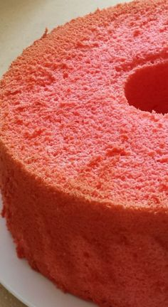 If you love Jell-O, you'll be equally intrigued as me how this can be used to make a chiffon cake! Yes, a Jello Chiffon Cake! Food Cakes, Angel Food Cake Desserts, Angle Food Cake Recipes, Cupcake Cakes, Baking Desserts, Strawberry Angel Food Cake, Strawberry Cake Recipes, Jello Flavors, Cake Flavors