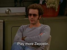 fav quote Cool music rock hippie hipster indie Grunge that show Band hide metal Led Zeppelin classic rock steven hide play more zeppelin zeppi… That 70s Show Quotes, 70s Quotes, Movie Quotes, Life Quotes, Hyde That 70s Show, Thats 70 Show, Familia Interracial, Music Rock, Rock Music Quotes