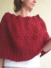 Ravelry: Crimson in Cables pattern by Cirsium Crochet (free crochet pattern)