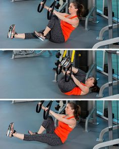 Rocking Bicycle and other TRX core blasting moves Trx Suspension Trainer, Suspension Training, Trx Class, Trx Yoga, Trx Band, Indian Yoga, Trx Training, Different Types Of Yoga, Group Fitness Classes