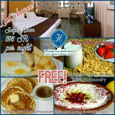 Last chance!  Enjoy the special offer for one week in the hospitality of Alhyatt #Jeddah Continental #Hotel  From 12 to 18 Feb. 2015  Single Room 395 SR per night  With 5 free services : breakfast,  lunch, dinner,  WiFi and laundry.  Offer code 22221 Please print this announcement and bring it when check in. #SaudiArabia #SaudiTourism #ksatourism  آخر فرصة!  استمتع بالعرض الخاص ولمدة أسبوع في ضيافة #فندق الحياة #جدة كونتيننتال  من 12 وحتى 18 فبراير 2015  غرفة مفردة 395 ريال سعودي لليلة…