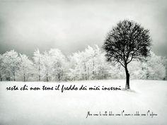 Nero come la notte dolce come l'amore caldo come l'inferno: Resta chi non teme il freddo dei miei inverni. (cit.)