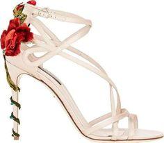 Dolce & Gabbana Rose Embellished Strappy Sandals ($1,395) - ShopStyle Photography