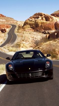 Ferrari 599 in the wilderness! #ToplessTuesdays. Check it out by hitting the pic...