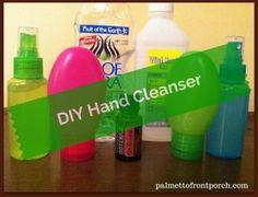 DIY Hand Cleanser