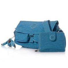 Kipling Chilly Shoulder Bag and New Money Purse Set