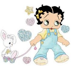 Baby Betty Boop Easter
