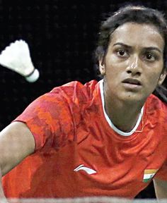 Ace shuttler PV Sindhu 's spirited run at the  Denmark Open ended at the hands of  defending champion and fourth seed Li Xuerui, who prevailed over the Indian 21-19, 21-12  in just 47 minutes.