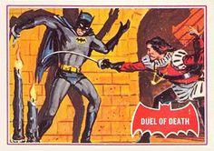 1966 Topps Batman A Series Card No.41 Duel of Death | #comics #comicbooks…