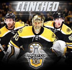 Boston Bruins are in the playoffs! Photos from @nhl, unless otherwise stated.