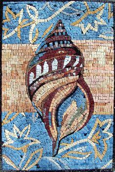 Mosaic Sea Shell Tile