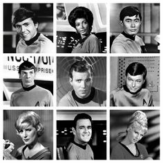 Star Trek: The Original Series Crew-now that was a crew!