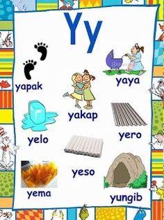 1st Grade Reading Worksheets, Kindergarten Worksheets, Literacy Activities, Tagalog Words, Alphabet Pictures, Visual Aids, Reading Passages, Picture Cards, Kindergarten Teachers