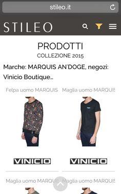 UNO SHOWROOM VIRTUALE DELLA MODA... TUTTO QUESTO SU http://stileo.it/.  MARQUIS AN'DOGE TRAMITE Vinicio Boutique PER Stileo.it!!! INSIEME AGLI ALTRI BRAND CI SIAMO ANCHE NOI... http://stileo.it/cerca?search=MARQUIS%20AN%27DOGE&Sort=score  #vinicio #boutique #legnano #arona #vinicioboutique #marquisandoge #milano #stileo #showroom #moda #brand #virtual #mand #luxury #luxurybrands #pe2015 #expomilano #expo #milan #intternational #vogue #designer #lifestyle