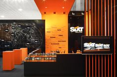SIXT trade show stand by Plajer & Franz Studio, Munich   Germany trade fairs