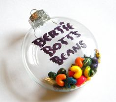 Bertie Bott's Every Flavor Bean Christmas Tree Ornament - Harry Potter - Handmade - Polymer Clay - Gifts under 30, 50, 100. $30.00, via Etsy.