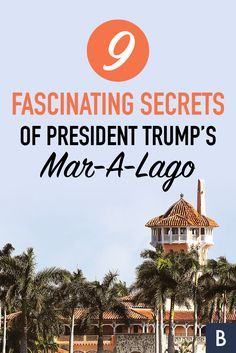 """Take a look inside the Mar-A-Lago, an opulent estate that Trump has declared his """"Winter White House. Celebrity Houses, Winter White, Photo Credit, The Secret, Donald Trump, Behind The Scenes, Presidents, Image"""