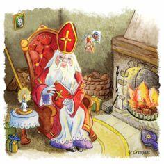 Sinterklaasprent