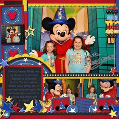 """Image search results - """"Disney"""" - Mousescrappers Speed scrap- Sorcerer Mickey - Britt-ish Designs Gallery"""