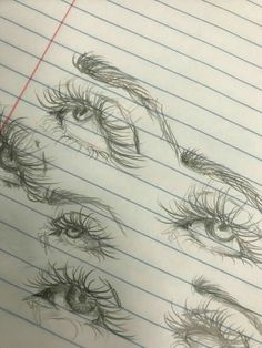 20 Amazing Eye Drawing Ideas & Inspiration – Brighter Craft Drawing Tutorial – Art And Home Eye Drawing Tutorials, Drawing Techniques, Art Tutorials, Drawing Tips, Drawing Drawing, Drawing Faces, Makeup Drawing, Drawing Animals, Drawing Hair