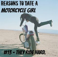 reasons to date a motorcycle girl 13