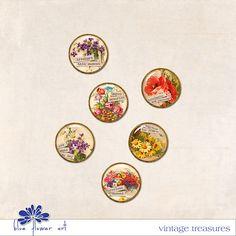 Vintage Treasures :: Elements :: Memory Scraps
