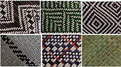 taniko patterns and meanings Flax Weaving, Basket Weaving, New Zealand Flax, Maori Designs, Bamboo Art, Nz Art, Maori Art, Weaving Patterns, Fiber Art
