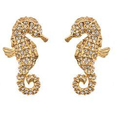 Seahorse Earrings | Fornash