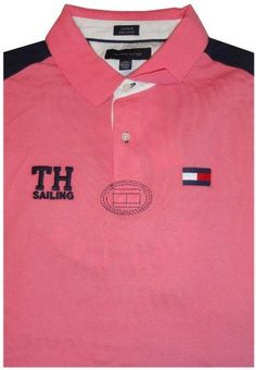 Men's Tommy Hilfiger Short Sleeve Shirt Sailing Club Pink Size XXL Tommy Hilfiger, http://www.amazon.com/dp/B009WQ58U0/ref=cm_sw_r_pi_dp_Ak7erb1CJ54H8