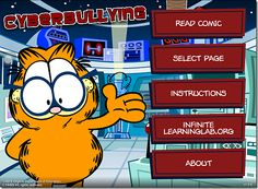 Another Tool for Anti-Bullying, Garfield