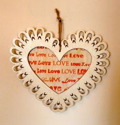 Tutorial on Heart Decoupage