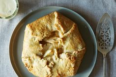 White Peach and Lemon Thyme Galette, a recipe on Food52