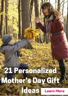 Mother's Day Present: 21 Personalized Mother's Day Gift Ideas. Explore 21 of the best personalized mother's day gift ideas that are sure to become your mother's favorites and show how much you care. #MothersDayGiftIdeas #GiftforMom