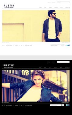 Rustik, WordPress Minimalist Ecommerce Theme