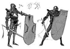 Fantasy armor, medieval fantasy, character design inspiration, fantasy in. Character Design Sketches, Fantasy Character Design, Character Design Inspiration, Character Illustration, Character Concept, Character Art, Concept Art, Medieval Armor, Medieval Fantasy
