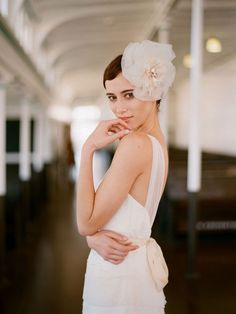 Featured on Style Me Pretty.com, the Amy Kuschel Valentine gown photographed beautifully by Elizabeth Messina!  Try on the gown in our salon!