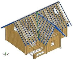 Carport Designs, Barn Door Designs, Roof Truss Design, Roofing Estimate, Run In Shed, Timber Structure, Porch Roof, Roof Trusses, A Frame House