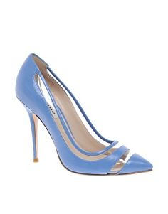 Enlarge Dune Behave Perspex Court Shoes ASOS