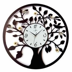 Wrought Iron Wall Clocks - The Clock Depot | Rod iron ...