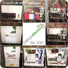 yet another ancient fusebox replaced yesterday in wallasey, i'm surprised  after all these